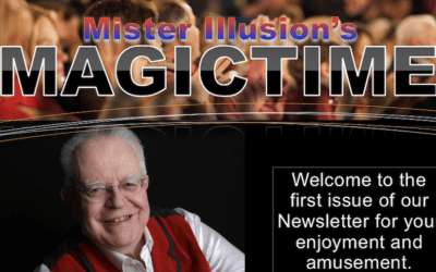 Mister Illusion's Magic Times Newsletter for January 2021