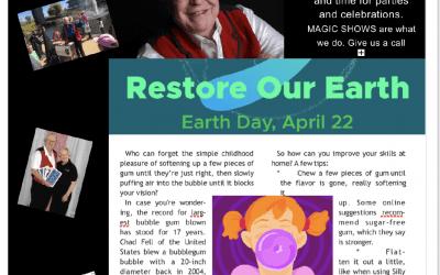 Mister Illusion's Newsletter for April 2021